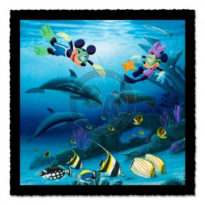 """Dive Buddies"" (Triptych Middle ) by Wyland"