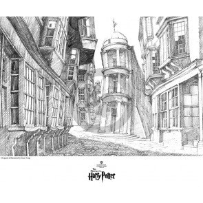 A View of Diagon Alley by Stuart Craig