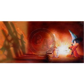 Fantasia Mickey by John Rowe