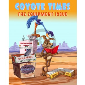 Coyote Times: The Equipment Issue by Andrea Alvin