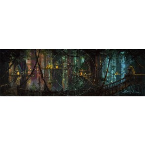 Ewok Village by James Coleman