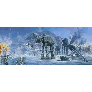 Battle of Planet Hoth by Rodel Gonzalez