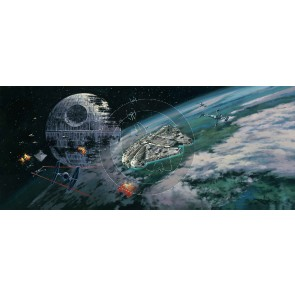 Battle of Endor by Rodel Gonzalez