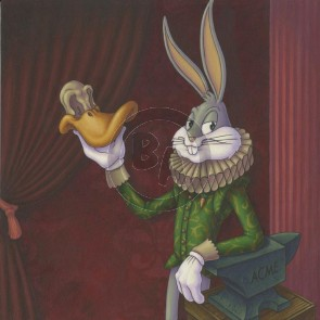 High Culture Hare by Mike Bilz