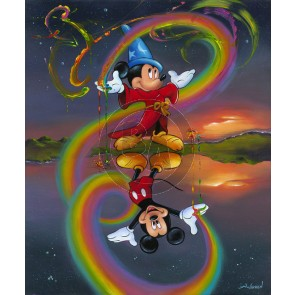 Two Faces of Mickey by Jim Warren