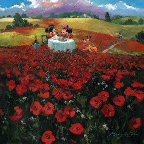 Red Poppies by James Coleman