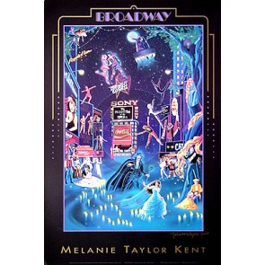 Broadway Poster Hand-Signed by Melanie Taylor Kent