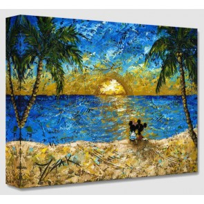 Treasures on Canvas: Sunset for Minnie and Me by Trevor Mezak