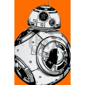 Star Wars Minis: BB-8 by Allison Lefcort