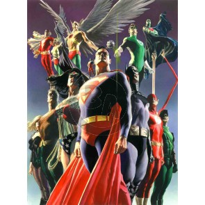 JLA: Secret Origins by Alex Ross (Regular)