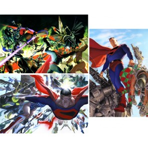 Kingdom Come: Matched-Numbered Set of Three by Alex Ross (Regular)