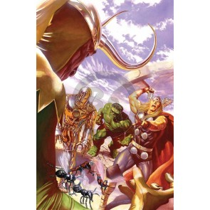 Larger Than Life: Avengers #1 Deluxe Canvas by Alex Ross (Regular)