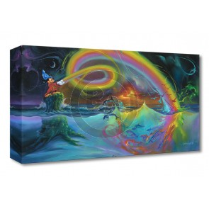 Treasures on Canvas: Mickey's Magical Colors by Jim Warren
