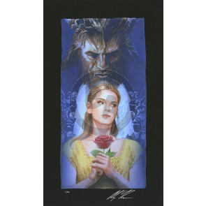 La Belle Et La Bete by Alex Ross (Chiarograph)