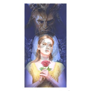 La Belle Et La Bete by Alex Ross (Lithograph)