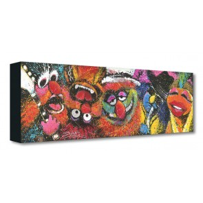 Treasures on Canvas: Electric Mayhem by Stephen Fishwick
