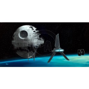 Vader's Shuttle by Rob Kaz