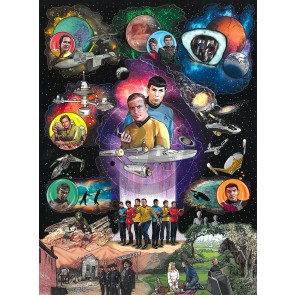 Star Trek: The Beginning by Charles Fazzino