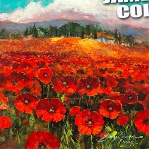 Daydreaming in a Field of Poppies by James Coleman