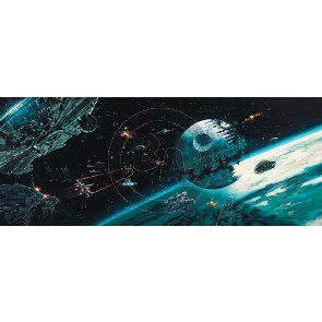 Death Star Final Battle by Rodel Gonzalez