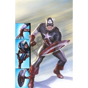 Captain America: Ready for Battle by Alex Ross