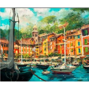 Reflections of Portofino by James Coleman