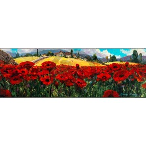 Fields of Red and Gold by James Coleman