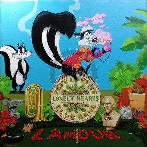 Pepe le Pew's Lonely Hearts Club Band by Daniel Killen