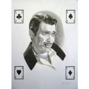Four Aces--Rhett Butler by Fran Lew
