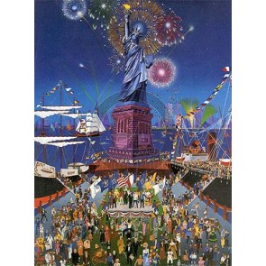 Statue of Liberty Centennial by Melanie Taylor Kent