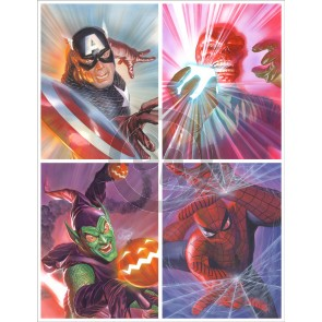 Marvelocity: Heroes and Foes by Alex Ross