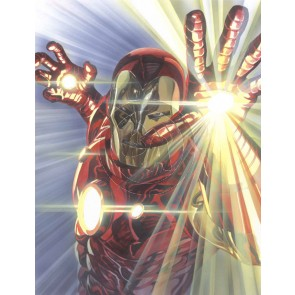 Marvelocity: Iron Man by Alex Ross