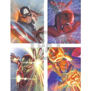 Marvelocity: Matched-Set of Four by Alex Ross