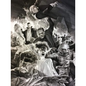 Universal Monsters: Monster Mash by Alex Ross