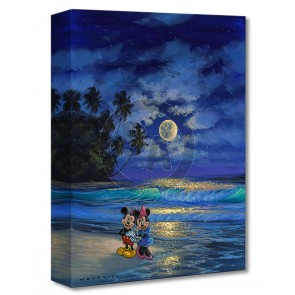 Treasures on Canvas: Romance Under the Moonlight by Walfrido Garcia