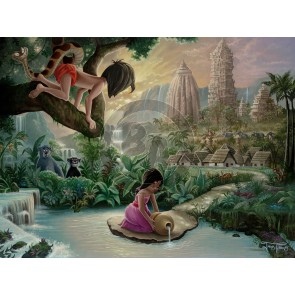 Mowgli's Neighborhood by Jared Franco
