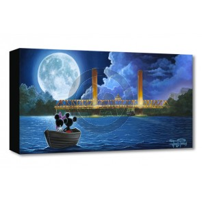 Treasures on Canvas: Drifting in the Moonlight by Jared Franco
