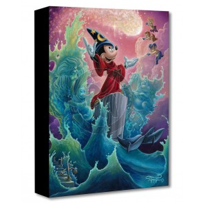 Treasures on Canvas: The Sorcerer's Finale by Jared Franco