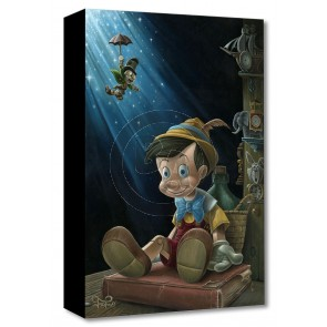 Treasures on Canvas: The Little Wooden Boy by Jared Franco