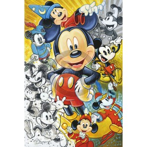 90 Years of Mickey Mouse by Tim Rogerson