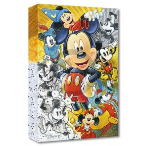 Treasures on Canvas: 90 Years of Mickey Mouse by Tim Rogerson
