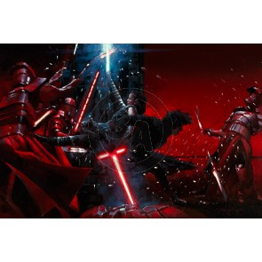 Duel with the Praetorian Guard by Rodel Gonzalez
