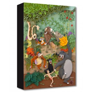 Treasures on Canvas: Jungle Jamboree by Karin Arruda