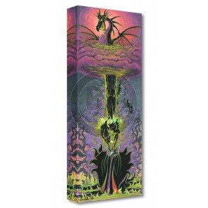 Treasures on Canvas: Maleficent's Transformation by Michelle St. Laurent