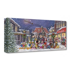 Treasures on Canvas: A Snowy Christmas Carol by Michelle St. Laurent