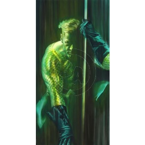 DC Shadows: Aquaman by Alex Ross (Paper)