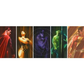 DC Shadows Paper Suite by Alex Ross