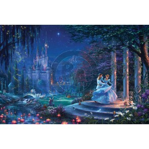 Cinderella Dancing in the Starlight by Thomas Kinkade Studios