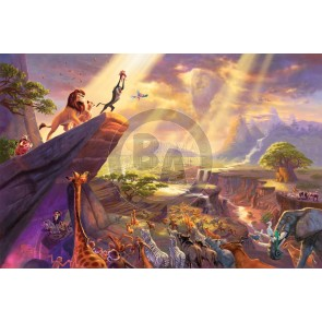 The Lion King by Thomas Kinkade Studios