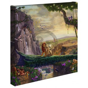 Kinkade Disney Minis: Lion King Return To Pride Rock